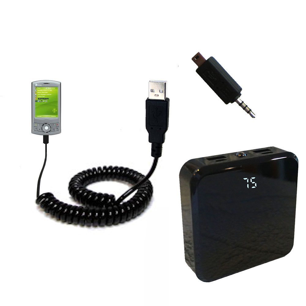 Rechargeable Pack Charger compatible with the HTC P3300