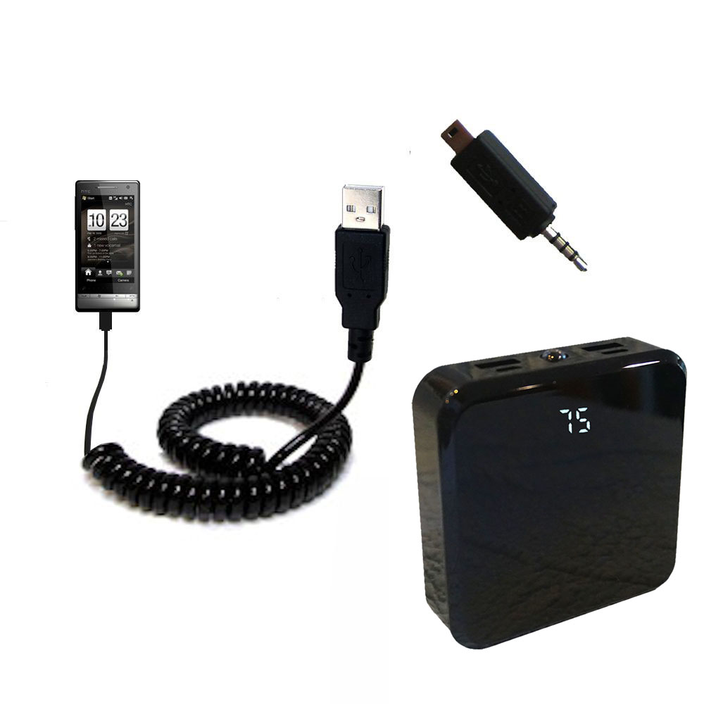 Rechargeable Pack Charger compatible with the HTC Touch Diamond2