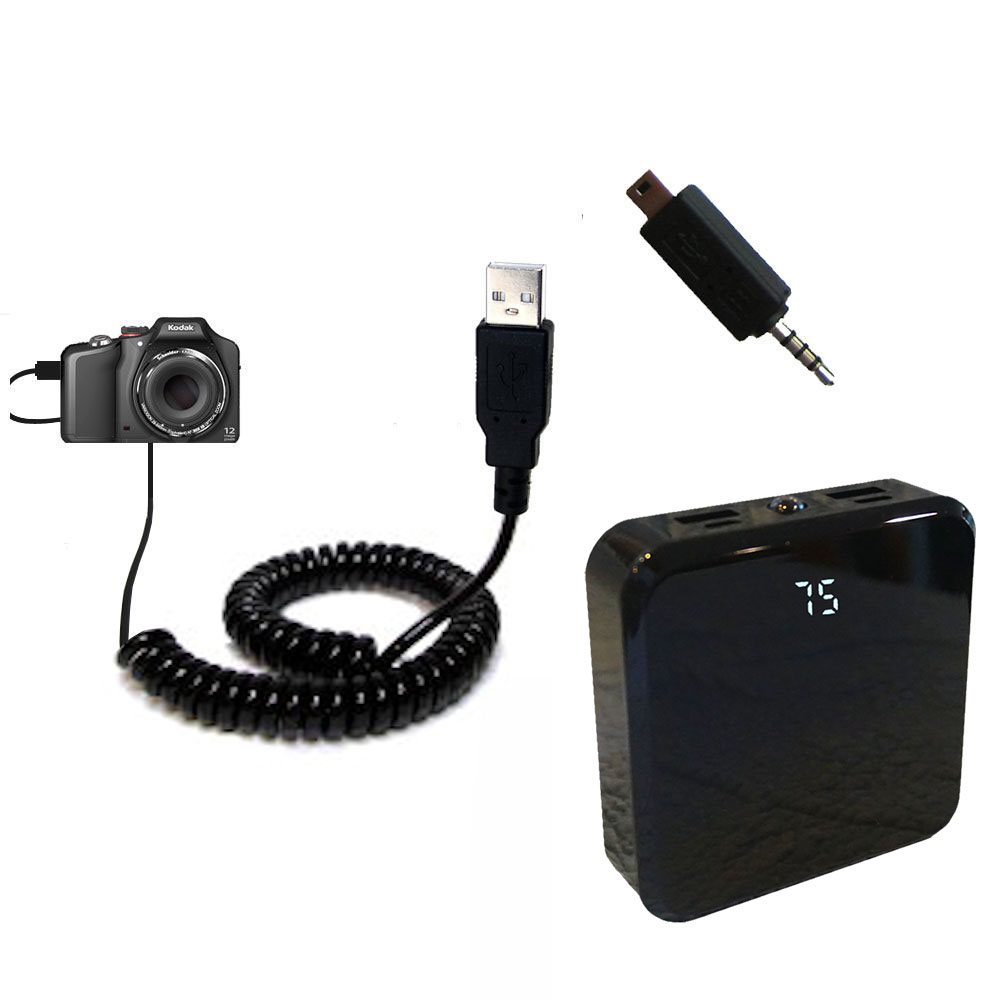 Rechargeable Pack Charger compatible with the Kodak EasyShare Max