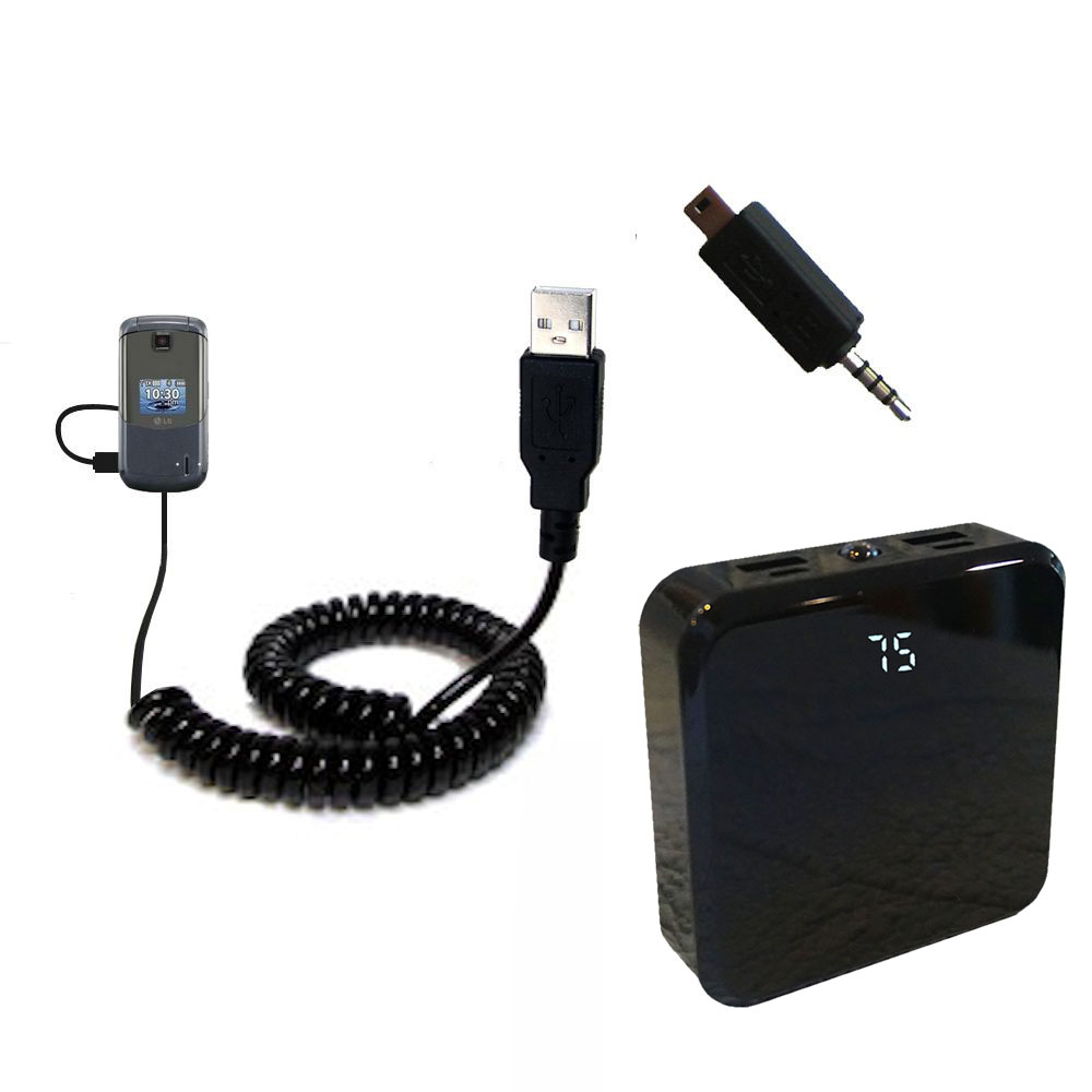 Rechargeable Pack Charger compatible with the LG Accolade