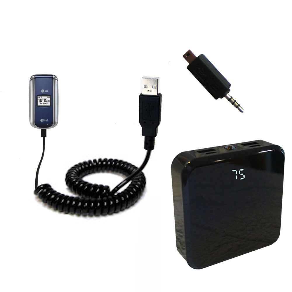Rechargeable Pack Charger compatible with the LG AX155