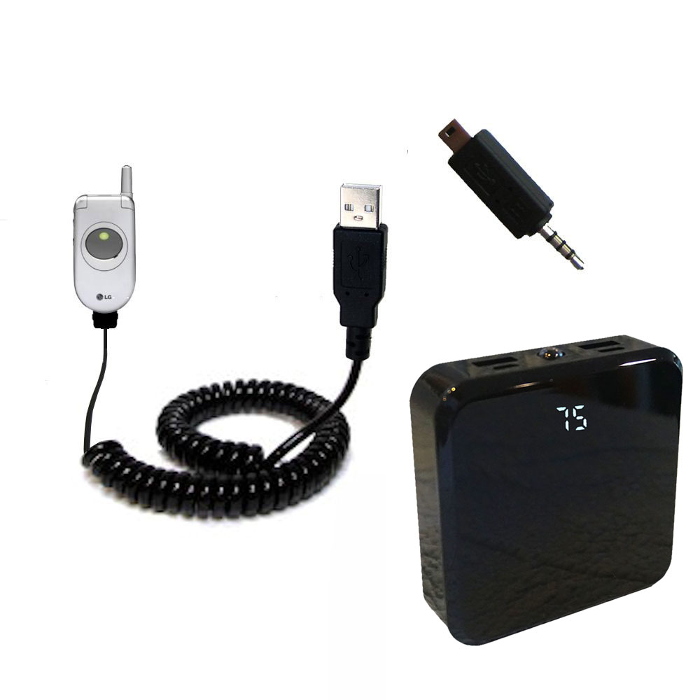 Rechargeable Pack Charger compatible with the LG C1300