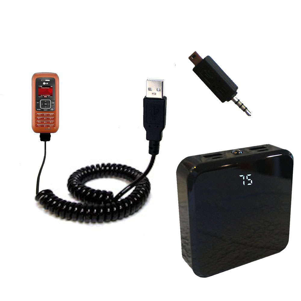 Rechargeable Pack Charger compatible with the LG EnV