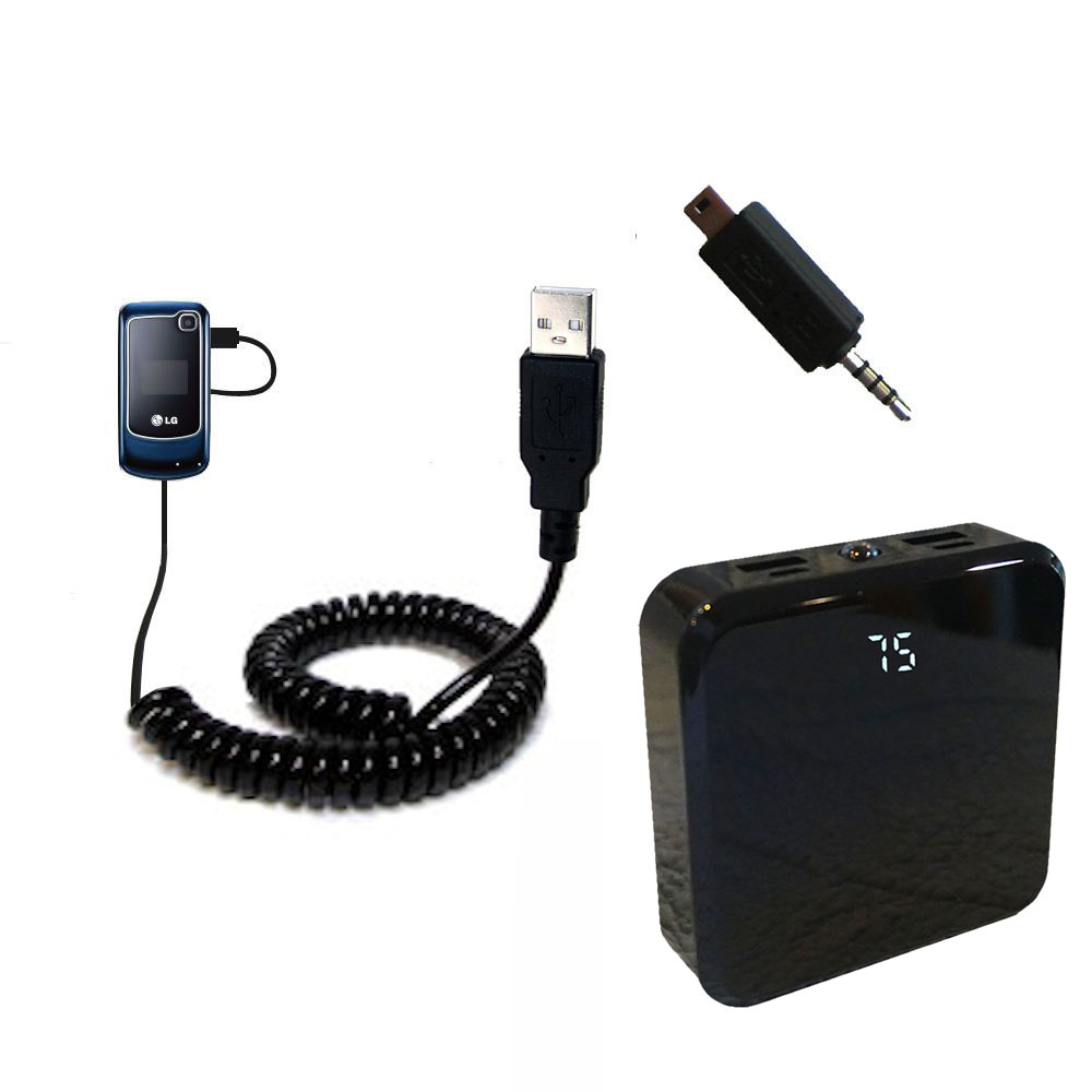Rechargeable Pack Charger compatible with the LG GB250