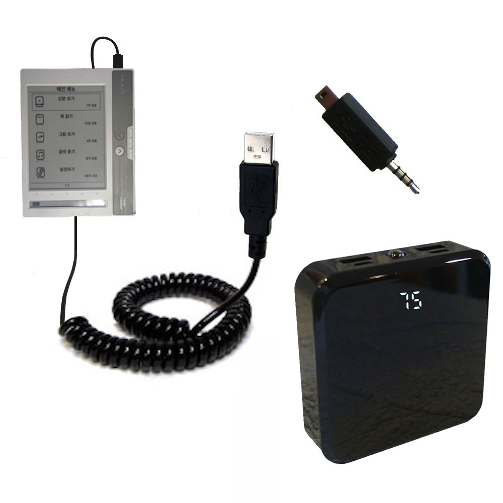 Rechargeable Pack Charger compatible with the NUUTbook NUUT2