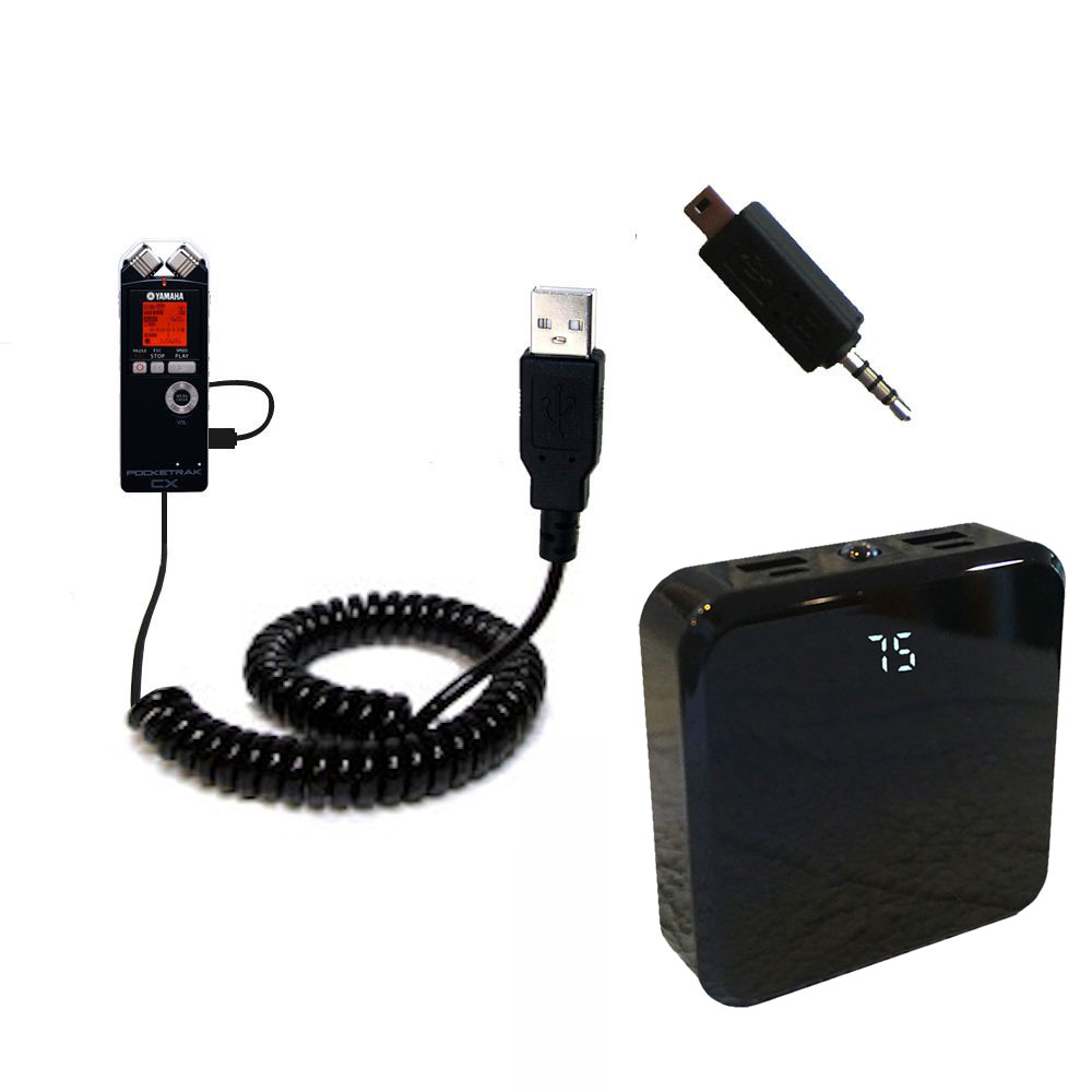 Rechargeable Pack Charger compatible with the Yamaha Pocketrak CX
