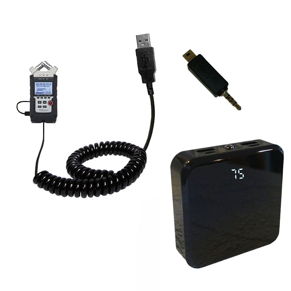 Rechargeable Pack Charger compatible with the Zoom H4N Pro