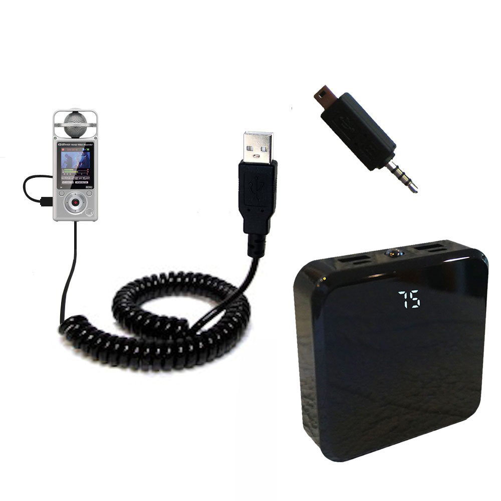 Rechargeable Pack Charger compatible with the Zoom Q2HD