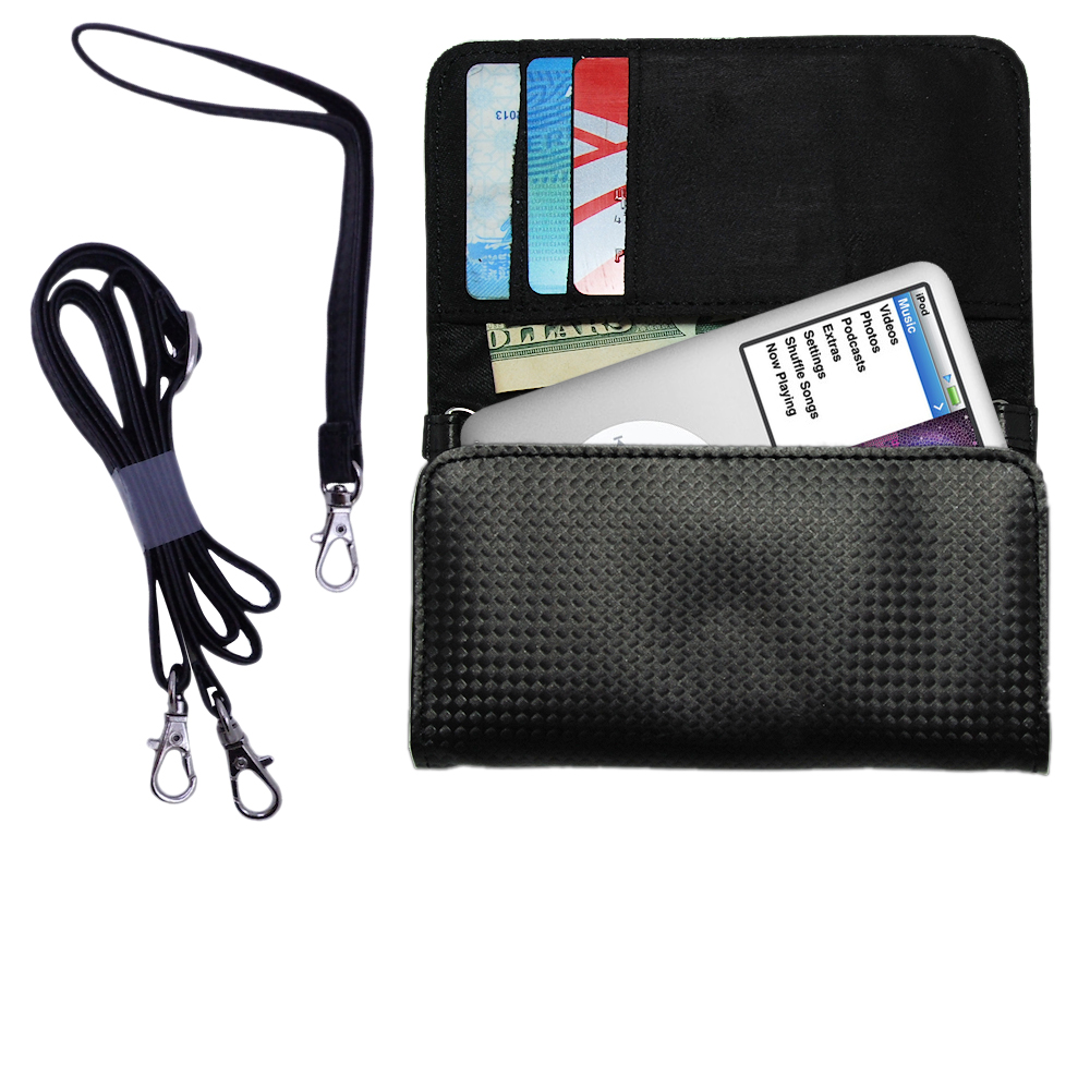 Purse Handbag Case for the Apple iPod (Gen 1)  - Color Options Blue Pink White Black and Red
