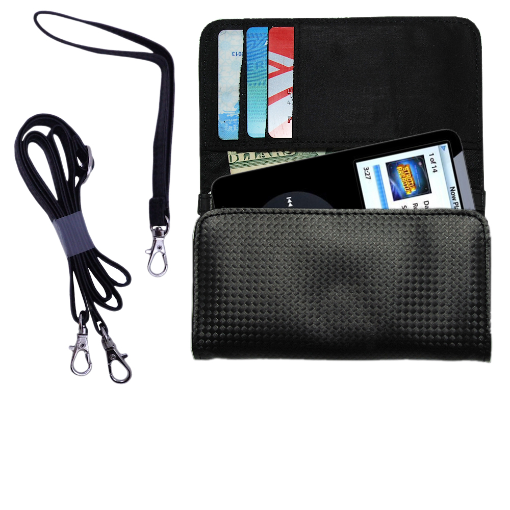 Purse Handbag Case for the Apple iPod 5G Video (60GB)  - Color Options Blue Pink White Black and Red