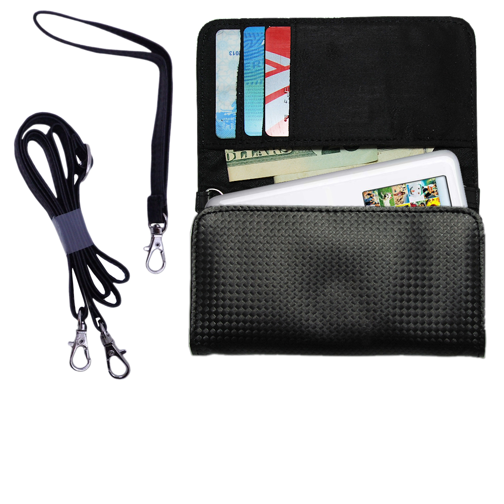 Purse Handbag Case for the Apple iPod Photo (30GB)  - Color Options Blue Pink White Black and Red