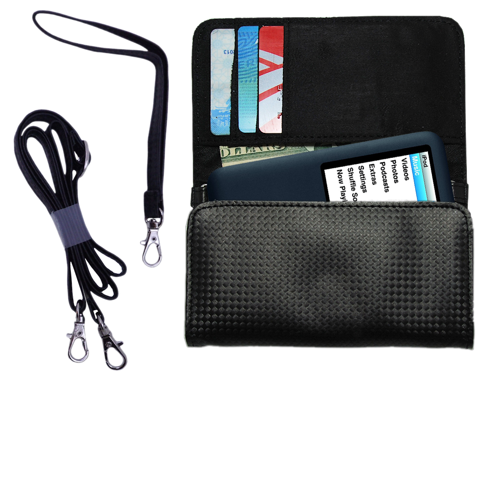 Purse Handbag Case for the Apple Nano Video Gen 3  - Color Options Blue Pink White Black and Red