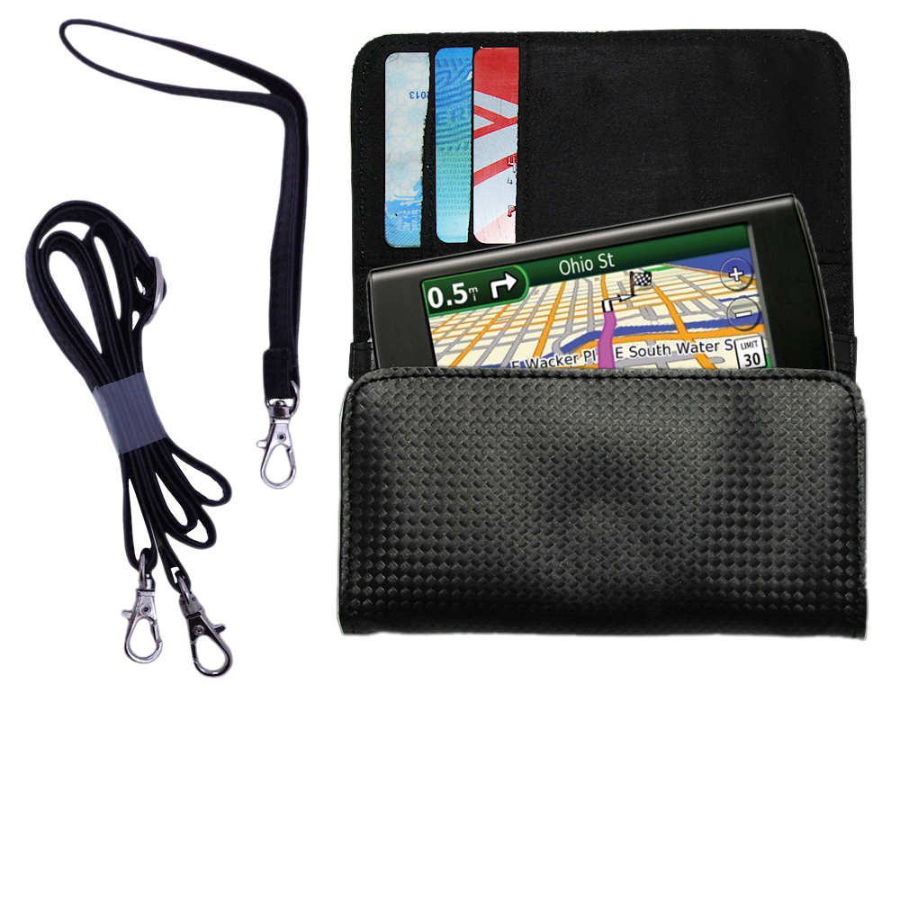 Purse Handbag Case for the Garmin 295W  - Color Options Blue Pink White Black and Red