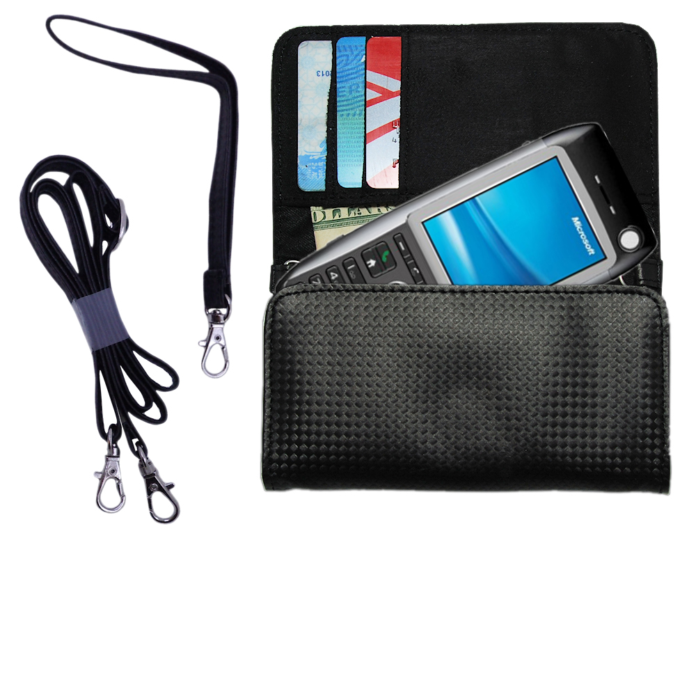 Purse Handbag Case for the HTC MTeoR  - Color Options Blue Pink White Black and Red