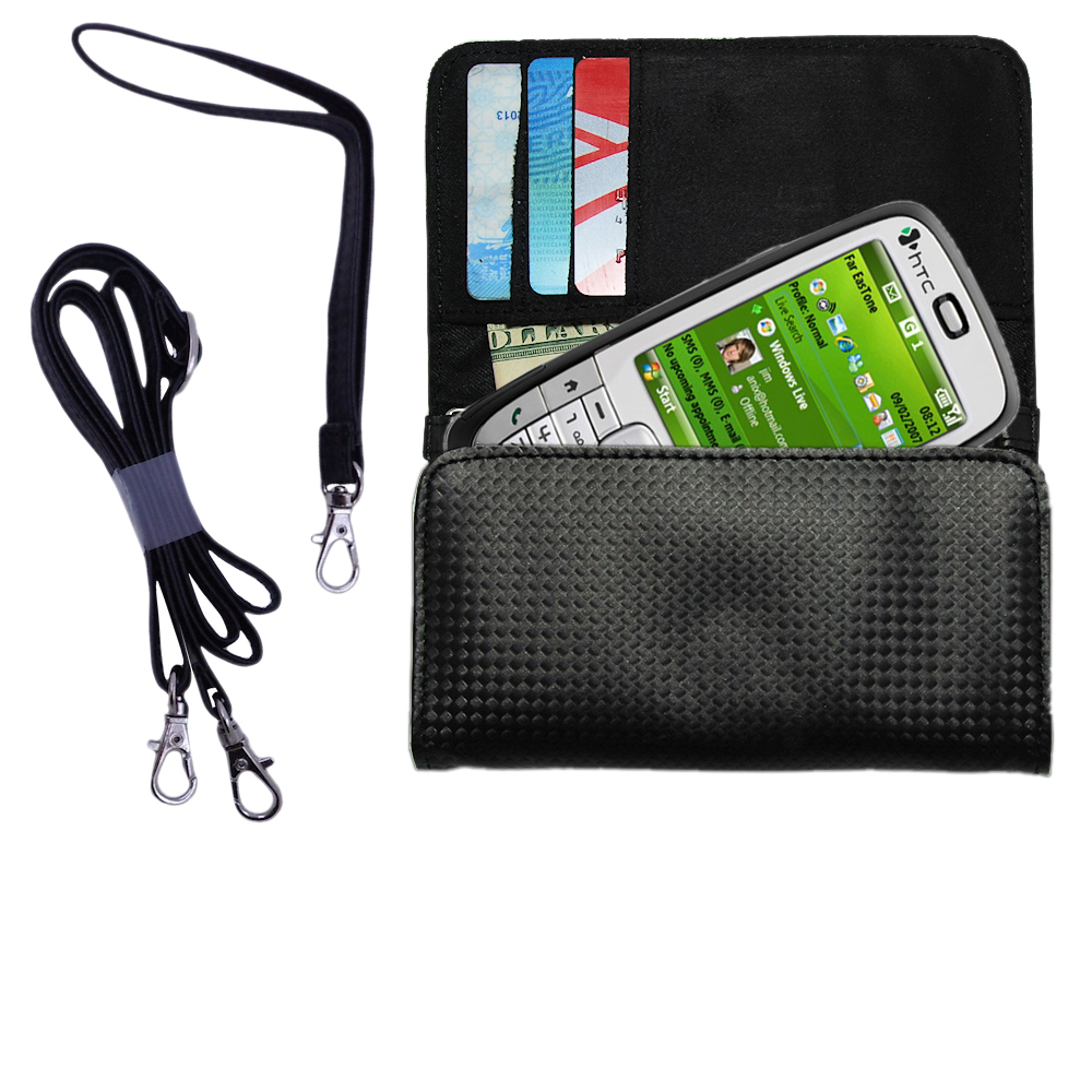 Purse Handbag Case for the HTC S710  - Color Options Blue Pink White Black and Red