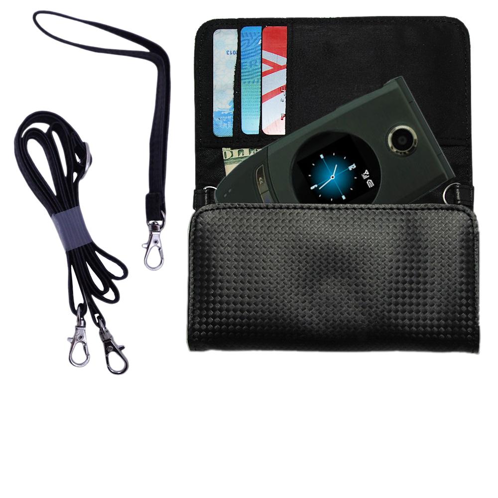 Purse Handbag Case for the HTC StarTrek / Star Trek  - Color Options Blue Pink White Black and Red