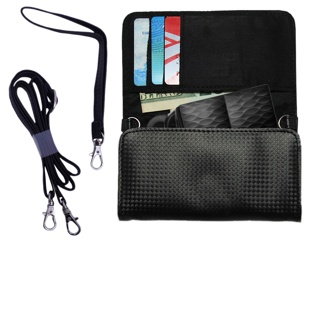 Purse Handbag Case for the Jawbone Icon  - Color Options Blue Pink White Black and Red