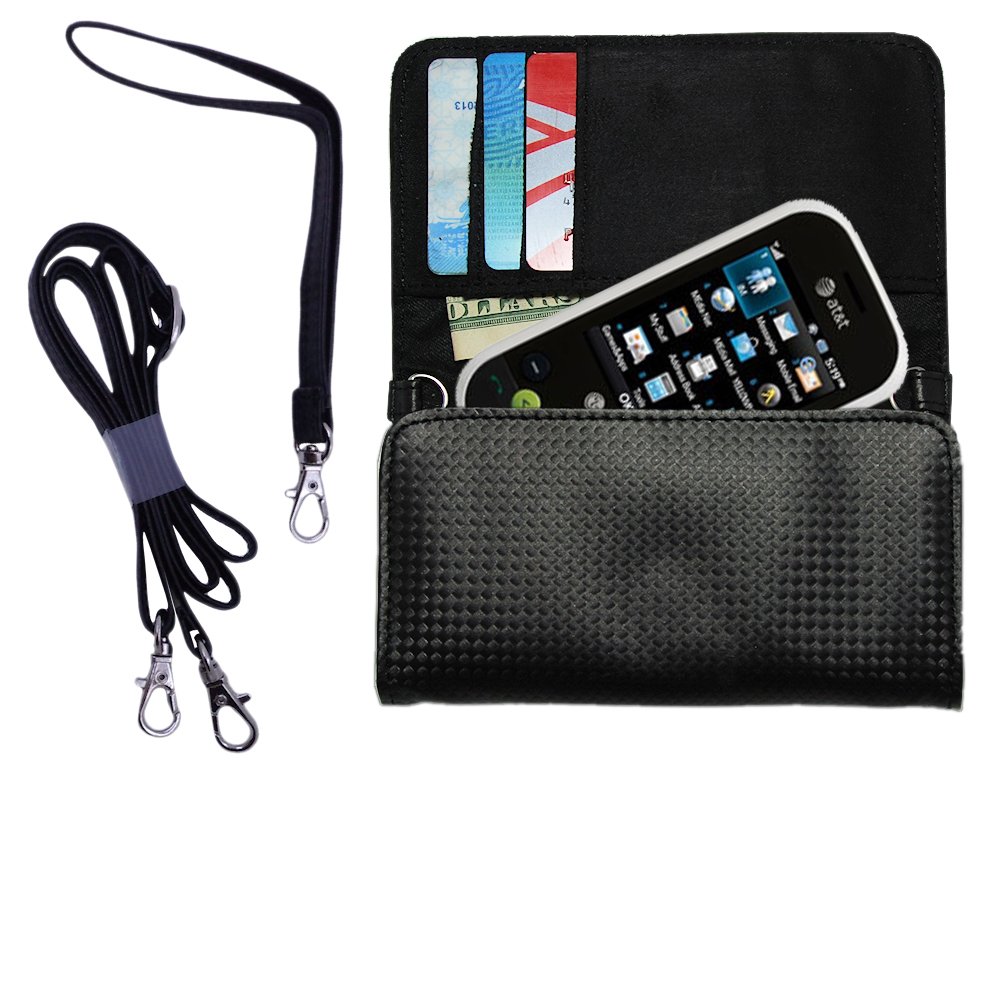 Purse Handbag Case for the LG GT365  - Color Options Blue Pink White Black and Red