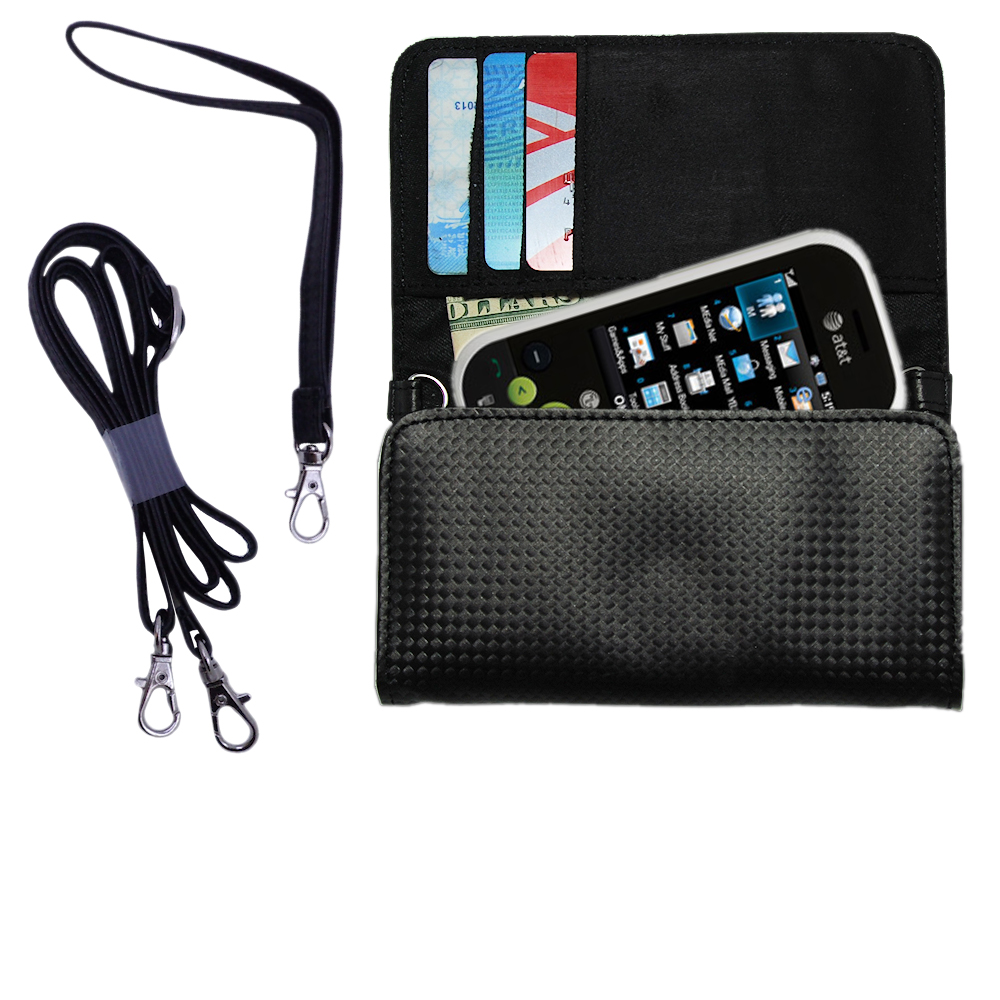 Purse Handbag Case for the LG Neon  - Color Options Blue Pink White Black and Red
