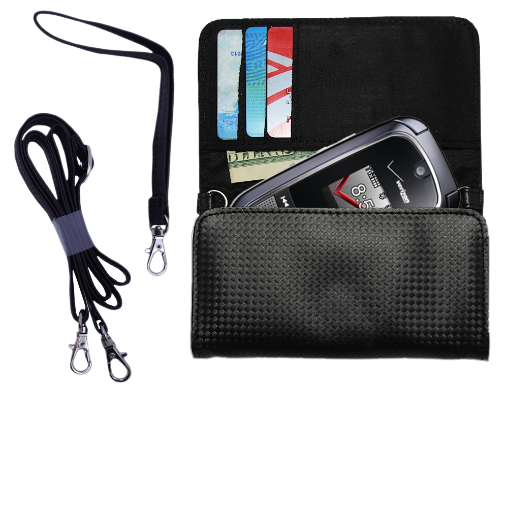 Purse Handbag Case for the LG VX8360  - Color Options Blue Pink White Black and Red