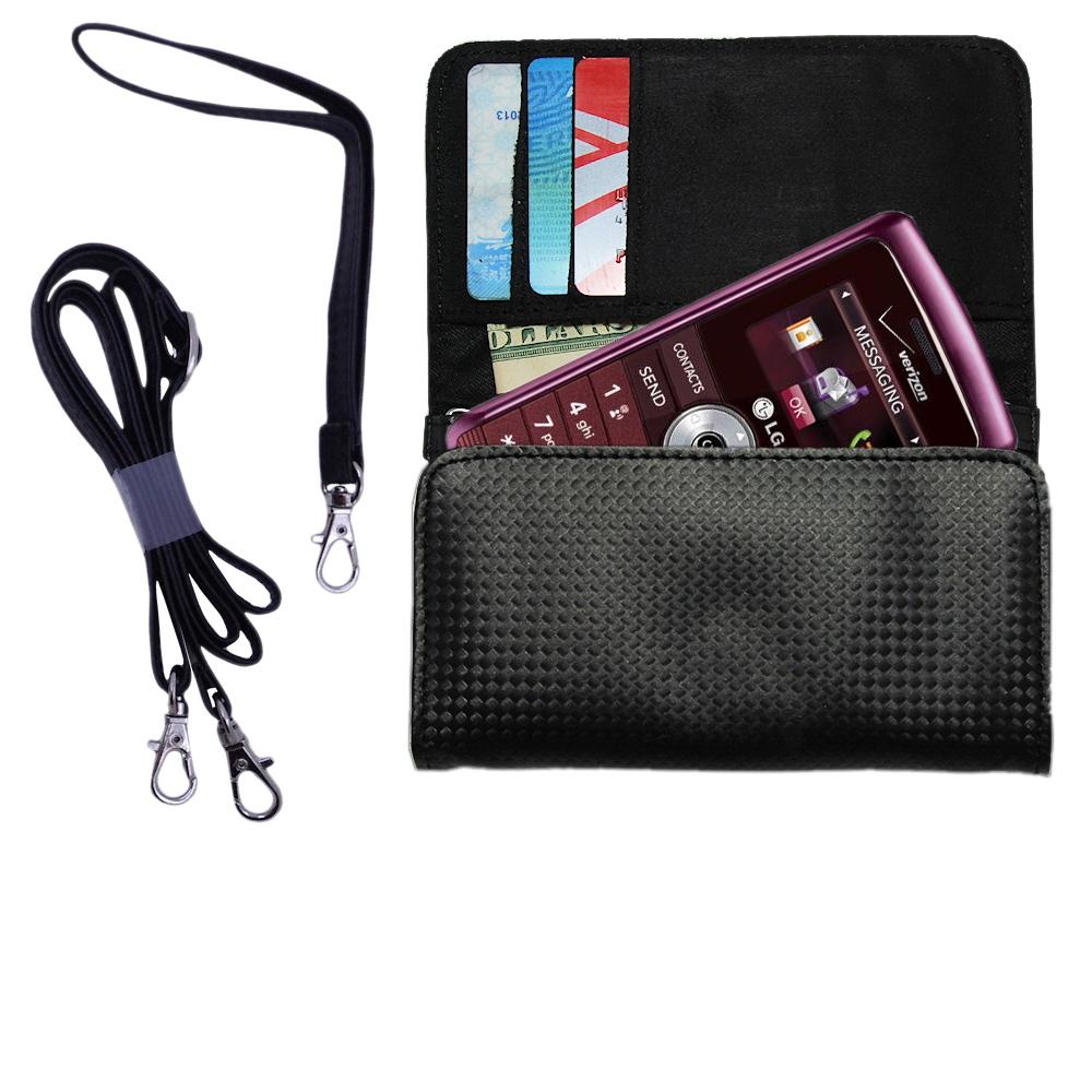 Purse Handbag Case for the LG VX9200  - Color Options Blue Pink White Black and Red