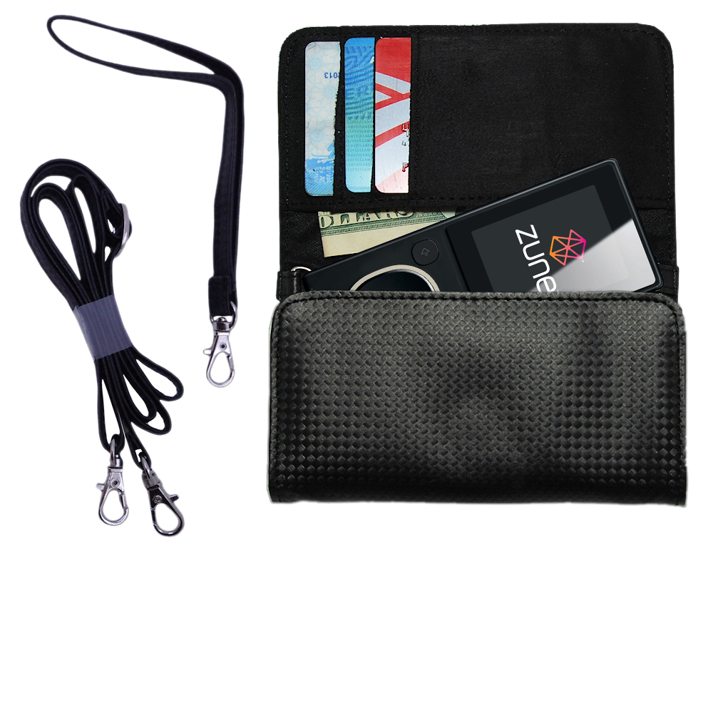Purse Handbag Case for the Microsoft Zune 4GB / 8GB  - Color Options Blue Pink White Black and Red