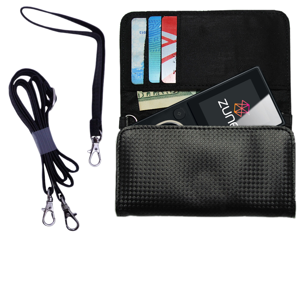 Purse Handbag Case for the Microsoft Zune 8 / 12  - Color Options Blue Pink White Black and Red