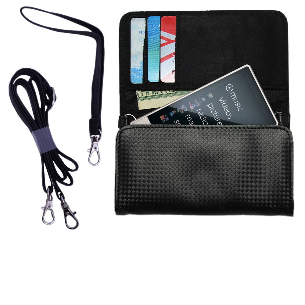 Purse Handbag Case for the Microsoft Zune HD  - Color Options Blue Pink White Black and Red