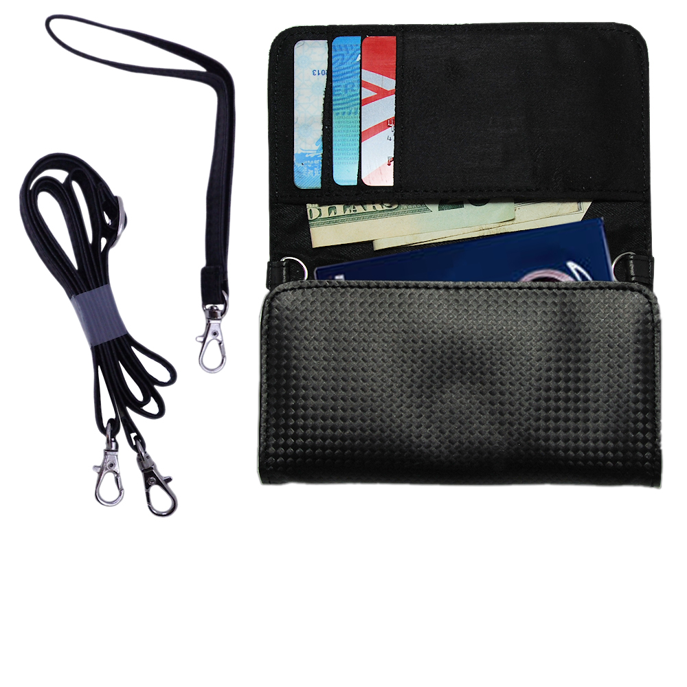 Purse Handbag Case for the RCA M4108 Digital Music Player  - Color Options Blue Pink White Black and Red