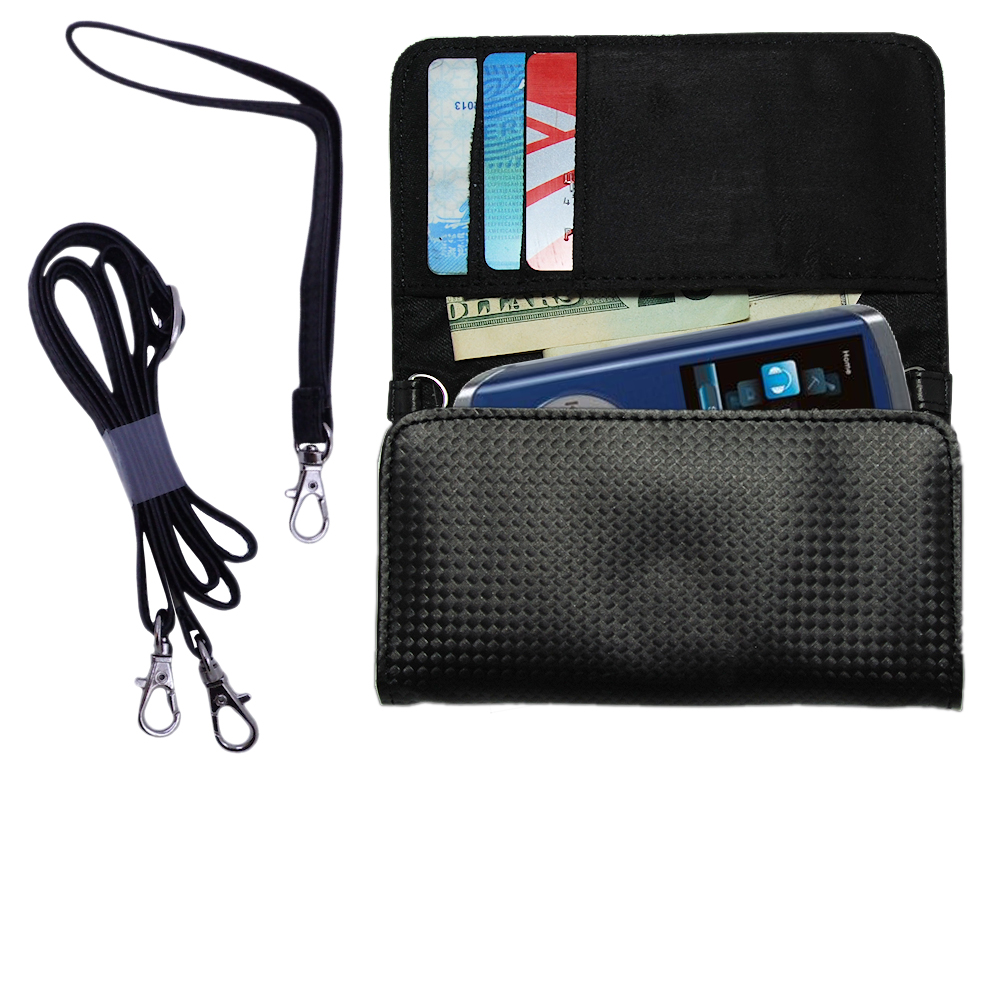 Purse Handbag Case for the RCA M4204 OPAL Digital Media Player  - Color Options Blue Pink White Black and Red