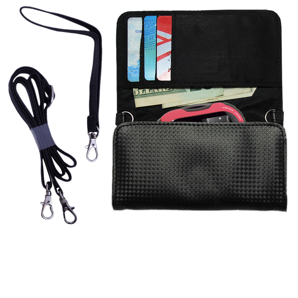 Purse Handbag Case for the RCA SC2202 JET Digital Audio Player  - Color Options Blue Pink White Black and Red