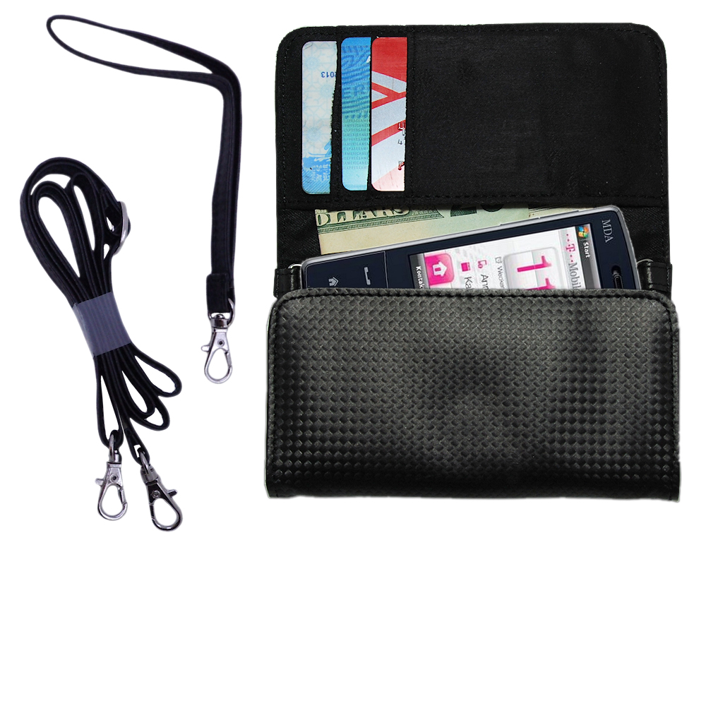 Purse Handbag Case for the T-Mobile MDA IV  - Color Options Blue Pink White Black and Red