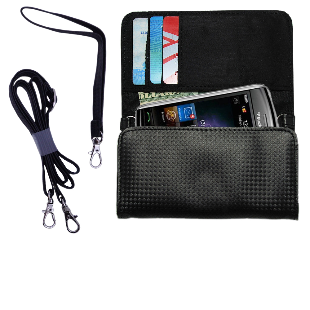 Purse Handbag Case for the Verizon Storm  - Color Options Blue Pink White Black and Red