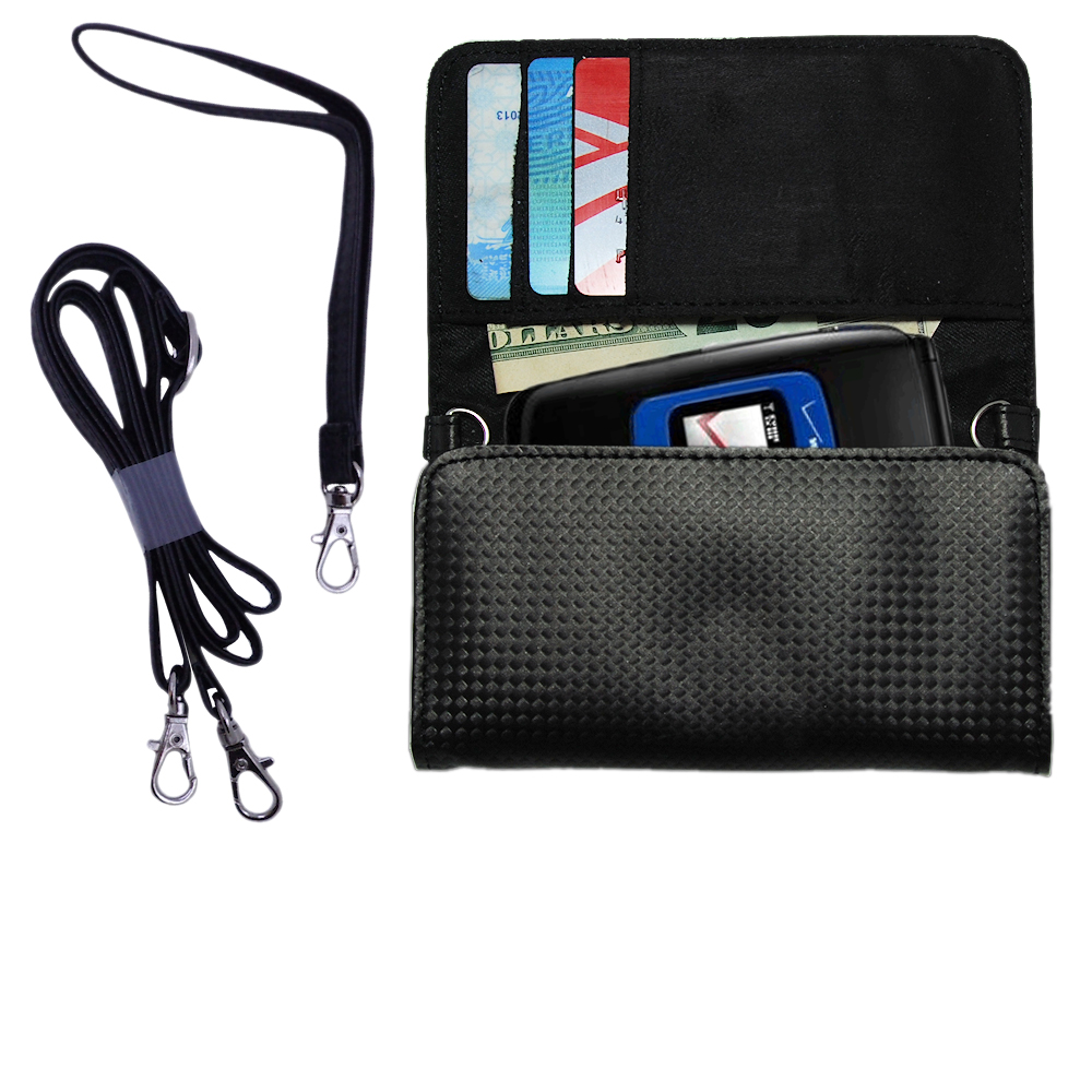 Purse Handbag Case for the Verizon Wireless Coupe  - Color Options Blue Pink White Black and Red