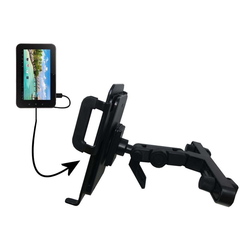 Headrest Holder compatible with the Android Allwinner A13