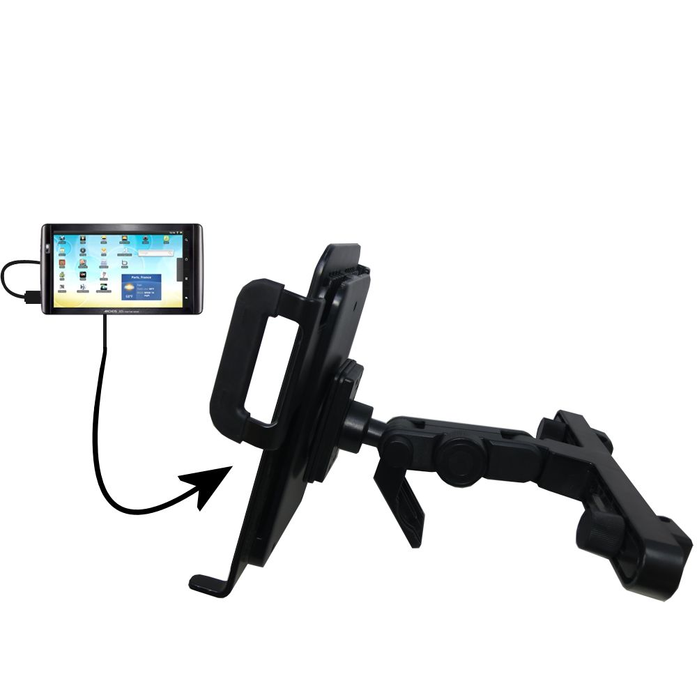 Headrest Holder compatible with the Archos 101 Internet Tablet