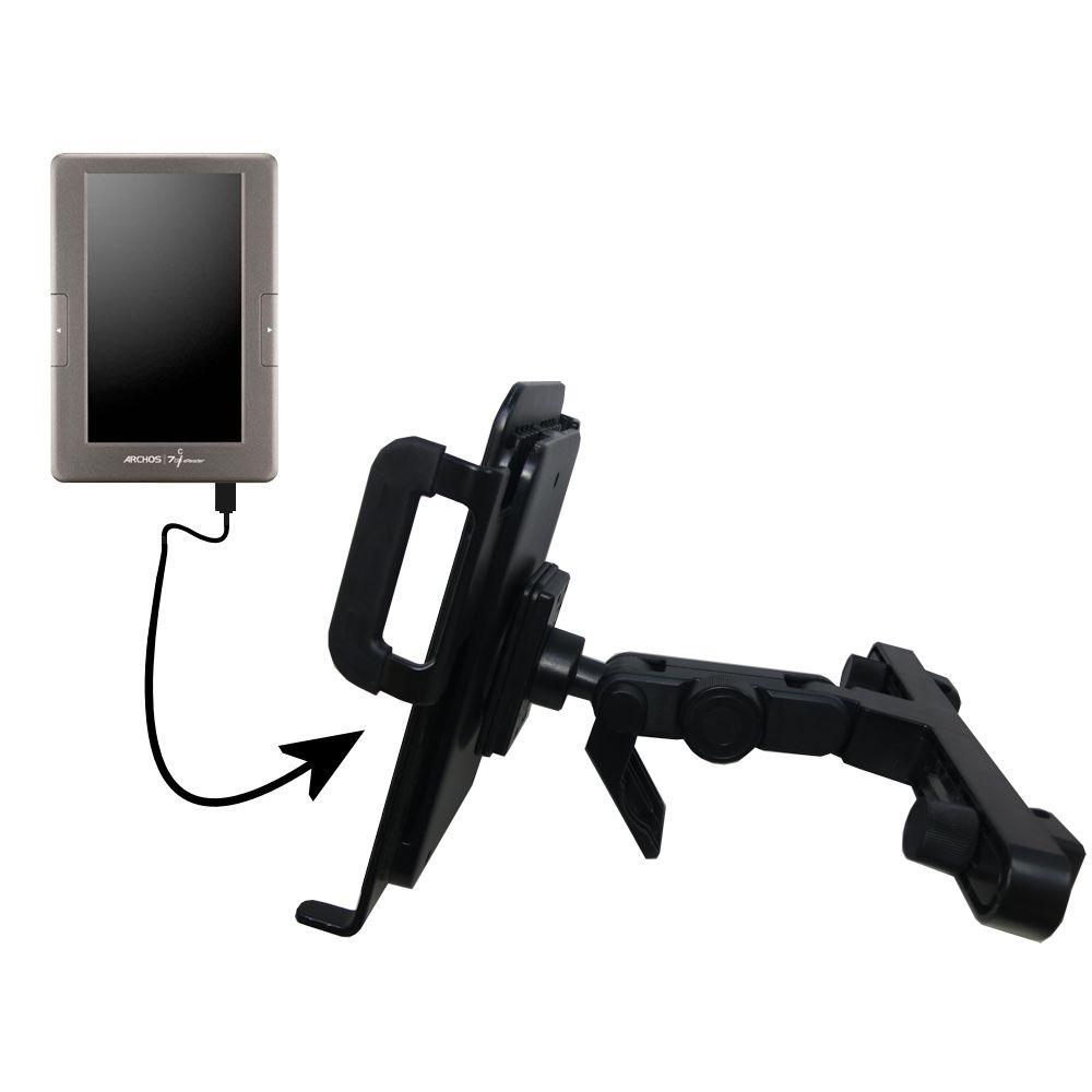 Headrest Holder compatible with the Archos 70c eReader