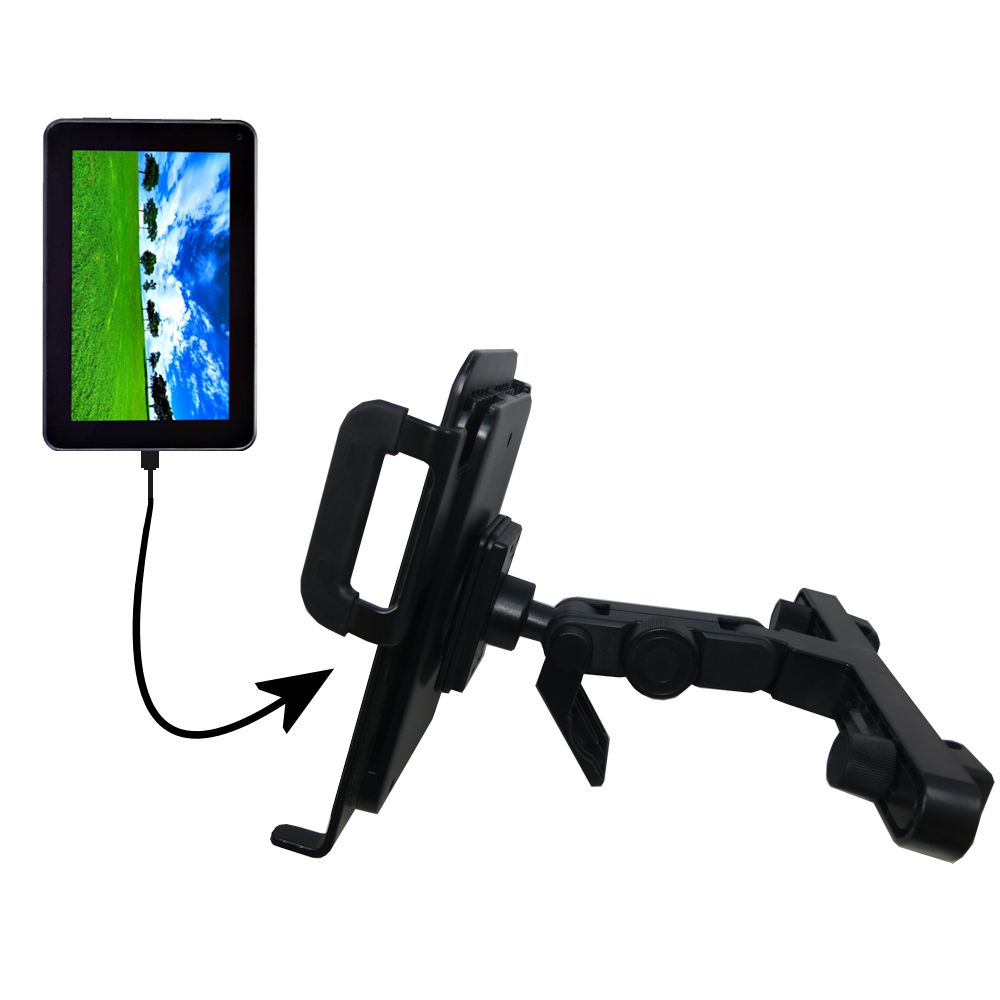 Headrest Holder compatible with the Double Power D7020 D7015 7 inch tablet