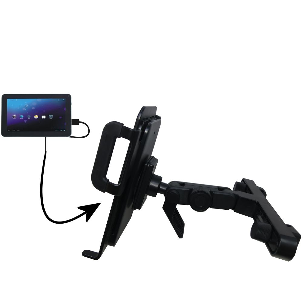Headrest Holder compatible with the Double Power DOPO M975