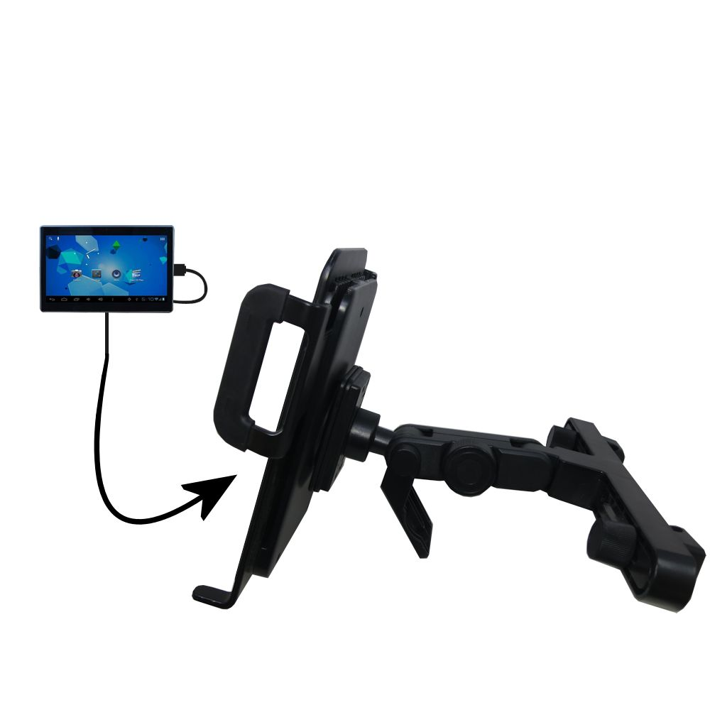 Headrest Holder compatible with the Double Power DOPO Tablet TD-1010