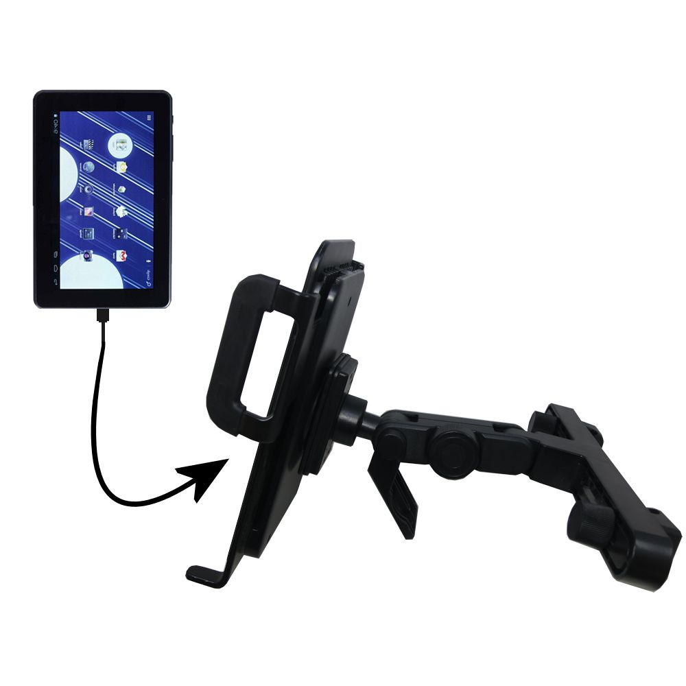 Headrest Holder compatible with the Double Power M7088 7 inch tablet