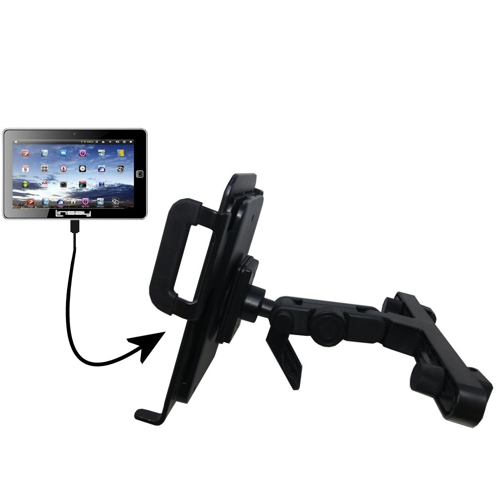 Headrest Holder compatible with the Linsay Cosmos F-7HD F-10HD