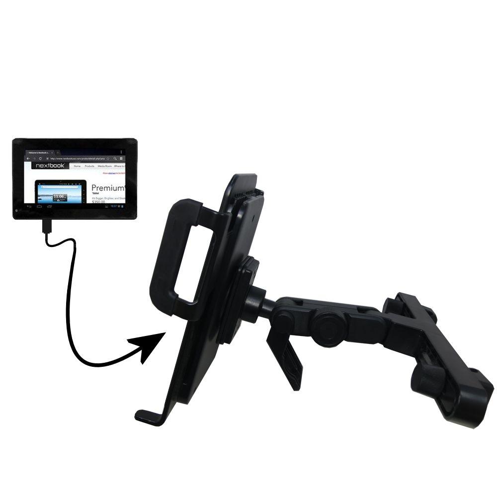 Headrest Holder compatible with the Nextbook Premium 7SE Next7P12