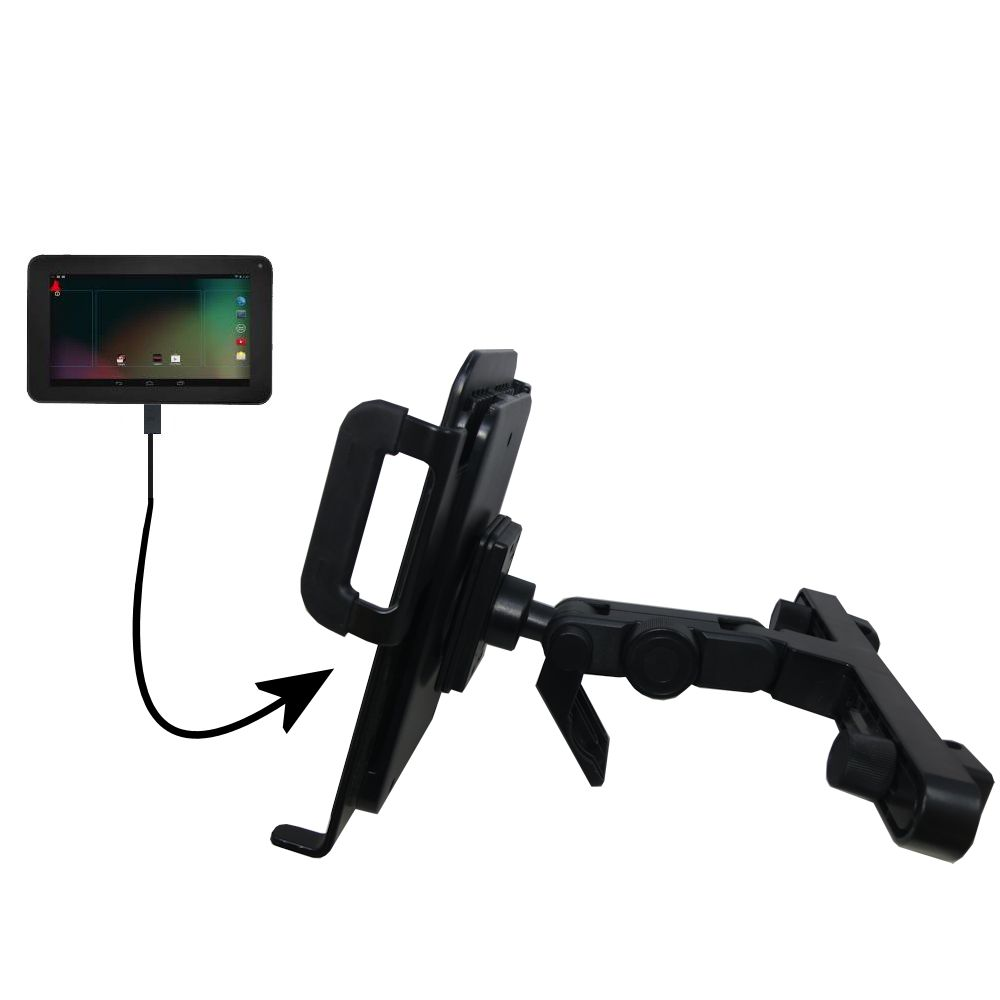 Headrest Holder compatible with the RCA RCT6272W23