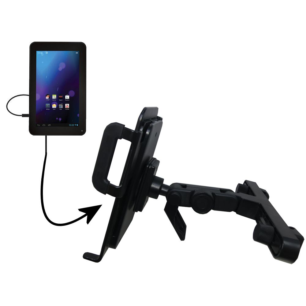 Headrest Holder compatible with the RCA RCT6378W2