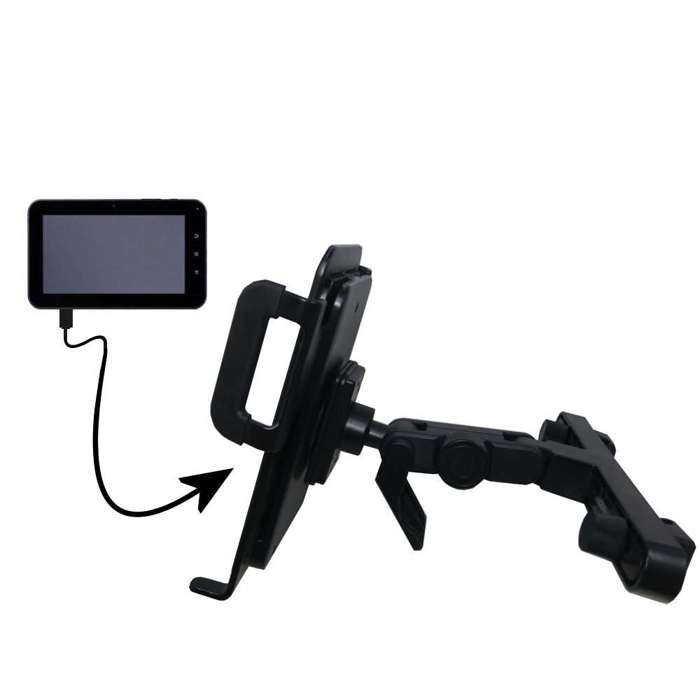 Headrest Holder compatible with the Tursion 7 BOXCHIP MID TS-501