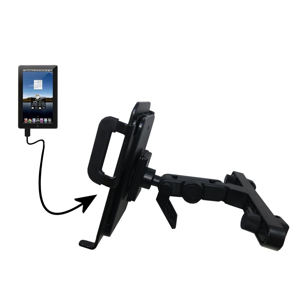 Headrest Holder compatible with the Tursion TS-510 C93