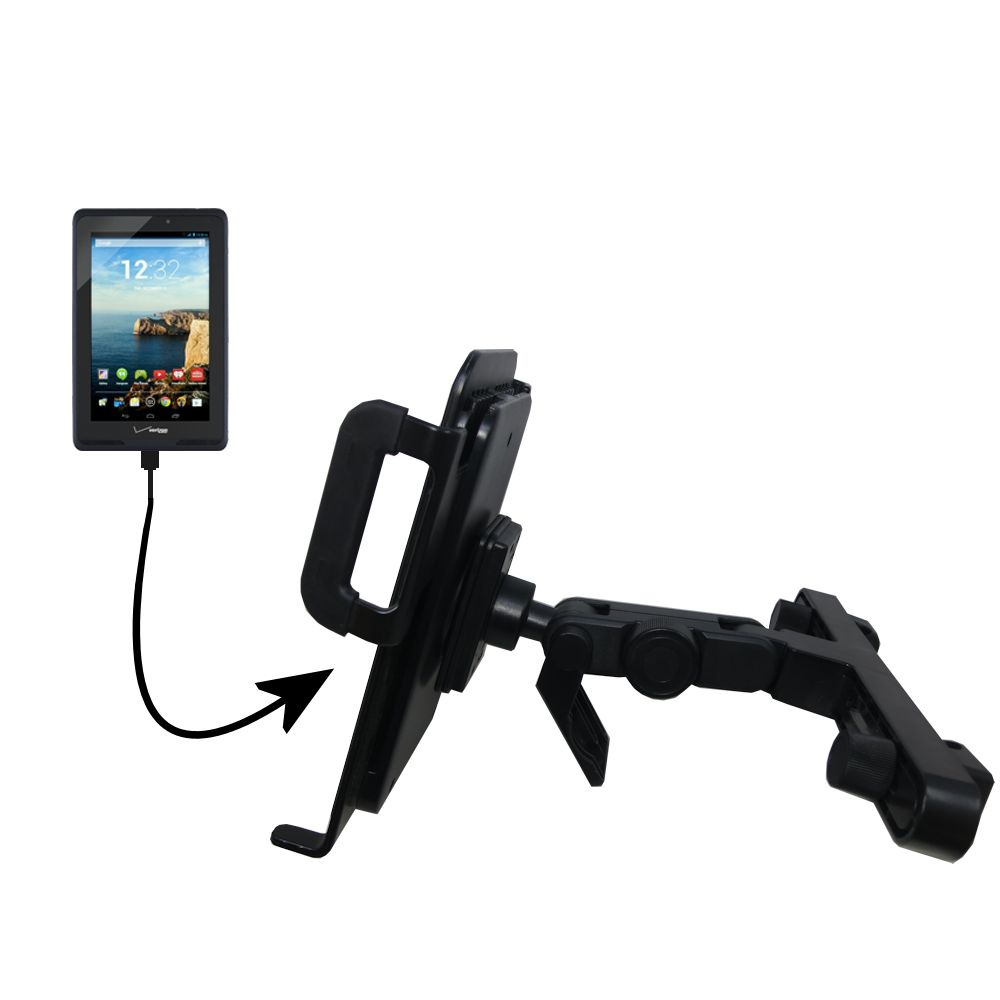 Headrest Holder compatible with the Verizon Ellipsis 7