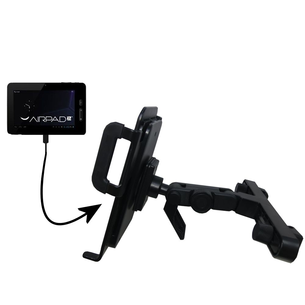 Headrest Holder compatible with the X10 Airpad 7P