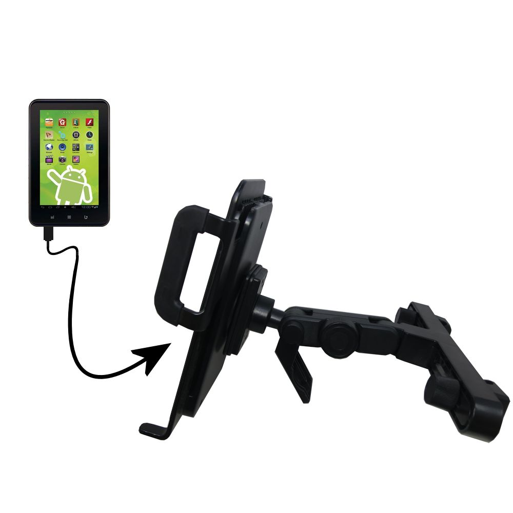 Headrest Holder compatible with the Zeki 7 Tablet TB782B